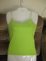 Lime Green Adjustable Strap Tank